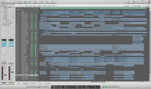 The Logic session for Heck Tate's 'Drip Dry' track for the RTJ comp.
